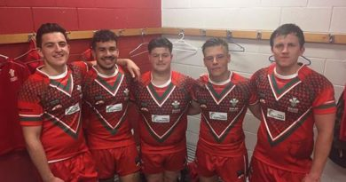 (English) Paramedic Science Student Represents Wales in the Students Rugby League World Cup