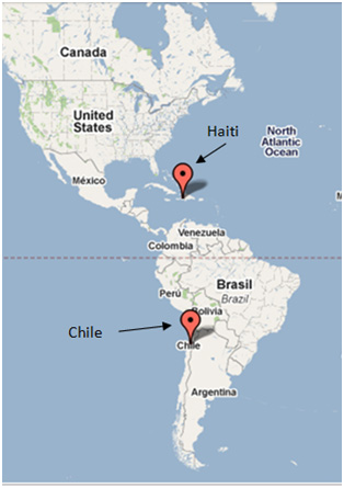Map Of Haiti In Relation To Us haiti map in comparison to us haiti chile – Blog i fyfyrwyr